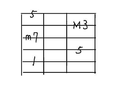 コード用5弦7